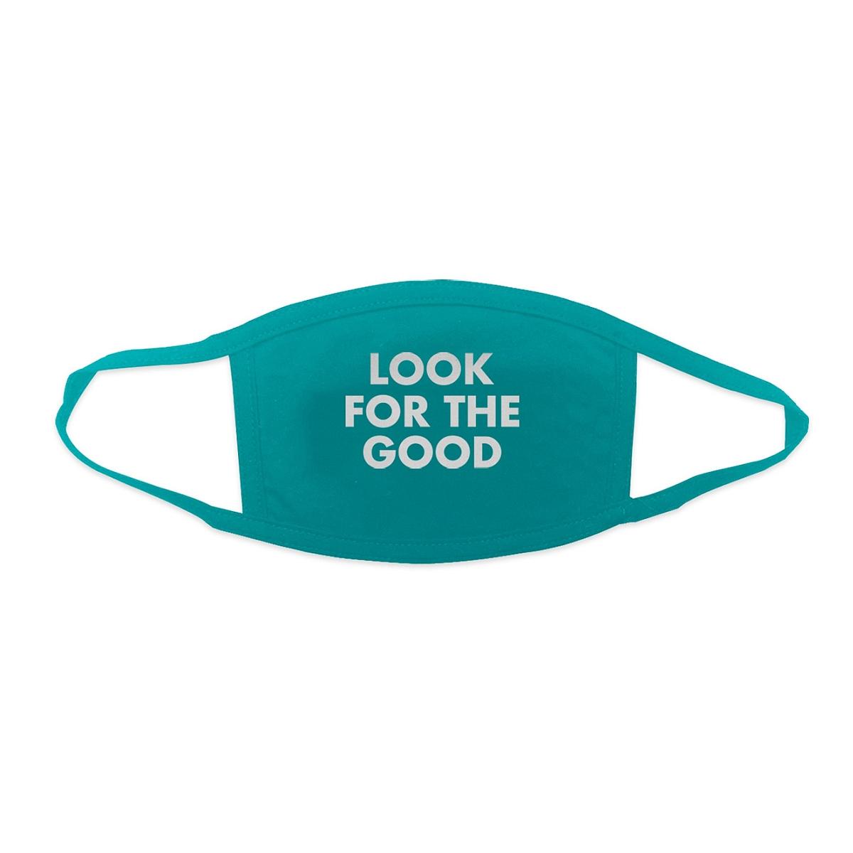 Jason Mraz Look For the Good Face Mask - Turquoise