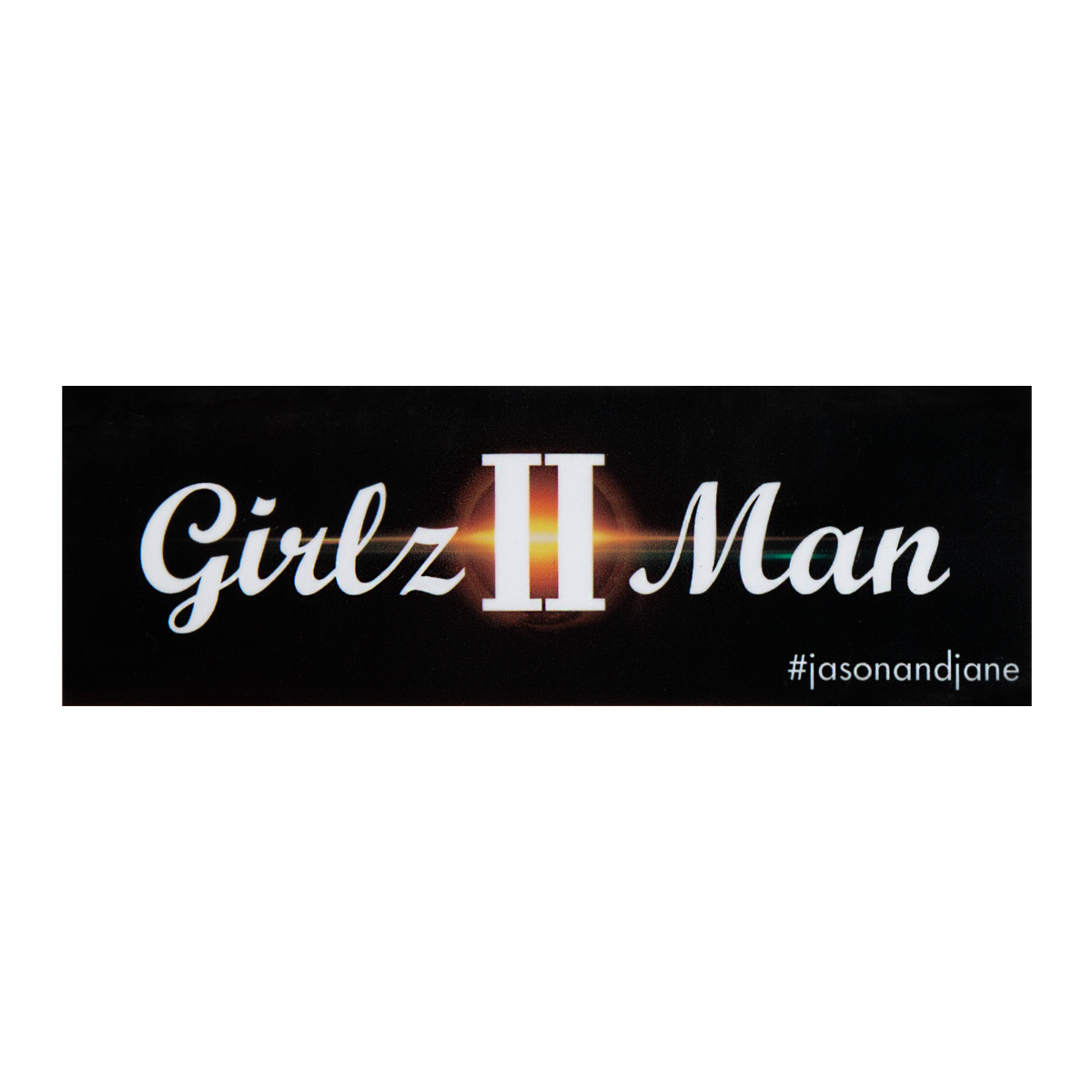 Girlz II Man Sticker
