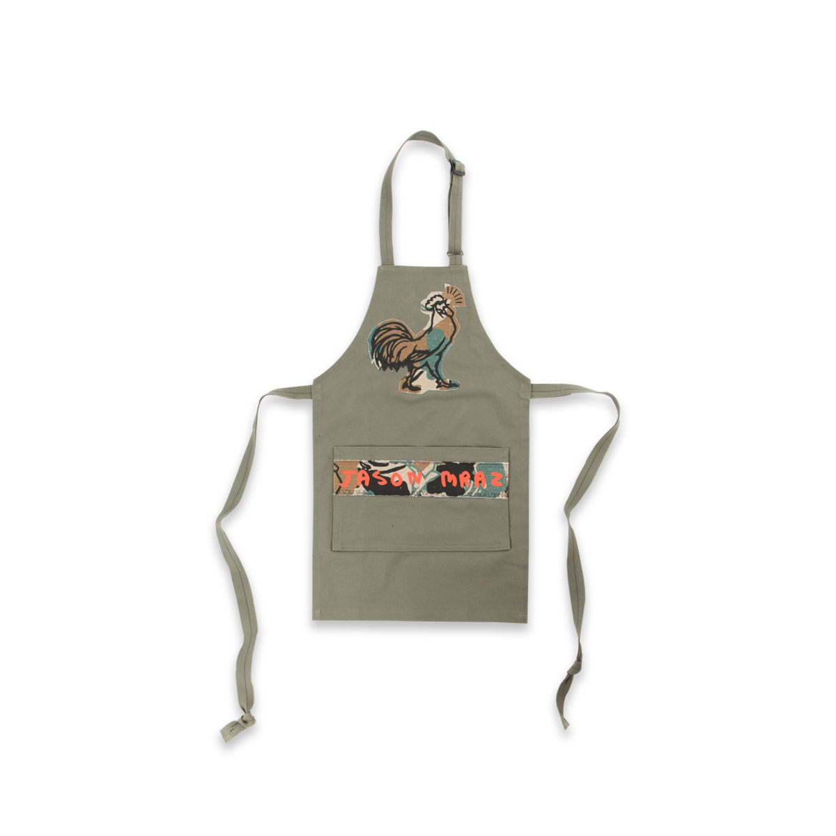 Rooster Camo Aprons Set