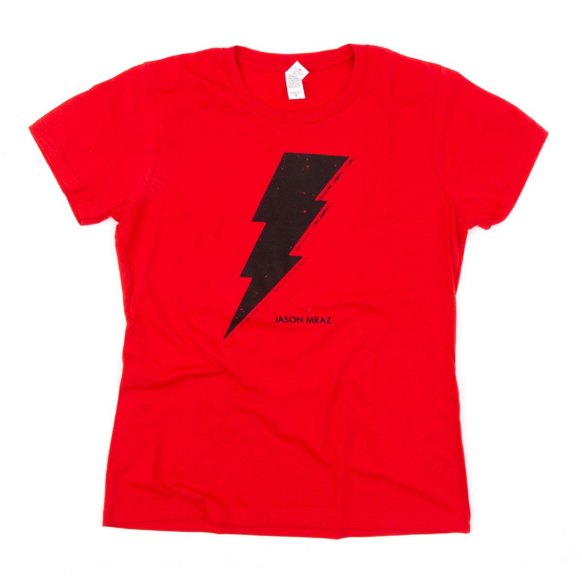 Womens Lighting Bolt T-shirt