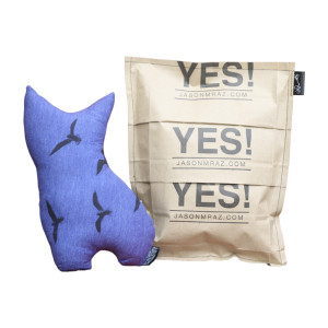 Jason Mraz Clever Kitty Plush Pillow