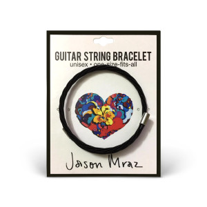 Jason Mraz Know. One Size Guitar String Bracelet Bracelet