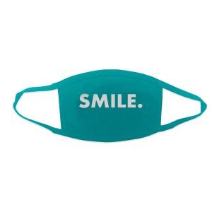 Jason Mraz Smile. Face Mask - Turquoise