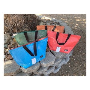Rareform Good Vibes Backdrop Beach Bag
