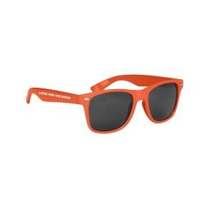 Look For The Good Sunglasses - Orange