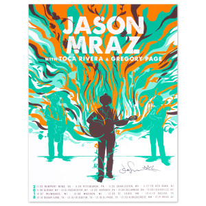 2018 WINTER TOUR SIGNED POSTER
