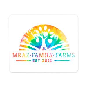 Mraz Family Farms Tye Die Sticker