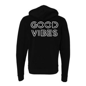 Jason Mraz Good Vibes Zip Hoodie