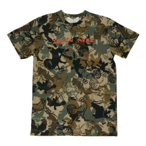 Jason Mraz Camouflage Rooster T-shirt