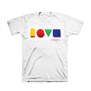 Jason Mraz Love Album Cover T-shirt