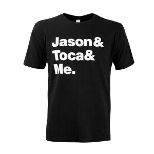 Jason & Toca & Me. T-shirt