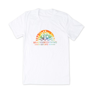 Mraz Family Farms Rainbow T-shirt