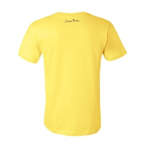 Be Where Your Feet Are Mirror Image Yellow T-shirt