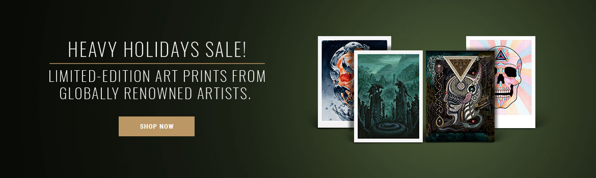 Heavy Holidays Sale - Buy More Save More - Limited Edition Art Prints - Shop Now