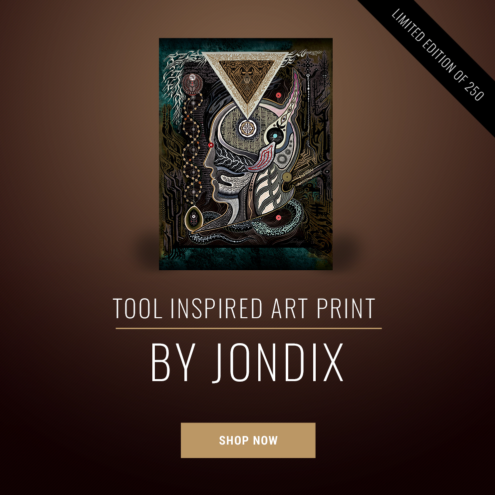 TOOL-INSPIRED ART PRINT — ONLY 250 AVAILABLE!