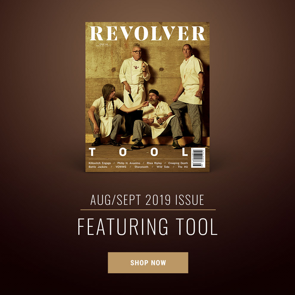 Aug/Sept 2019 Issue Featuring Tool - Shop Now!