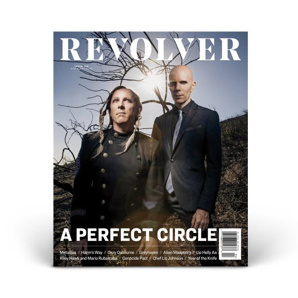 APR/MAY 2018 Issue featuring A Perfect Circle | Shop the Revolver