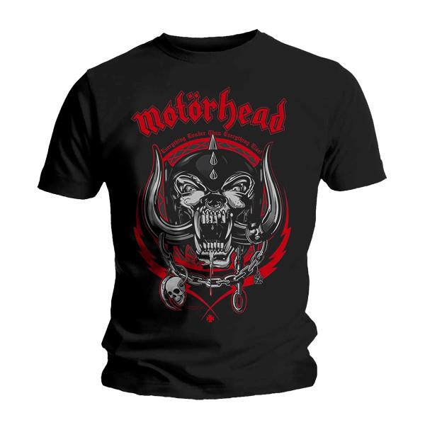 Motörhead LIGHTNING WREATH T-SHIRT | Shop the Revolver