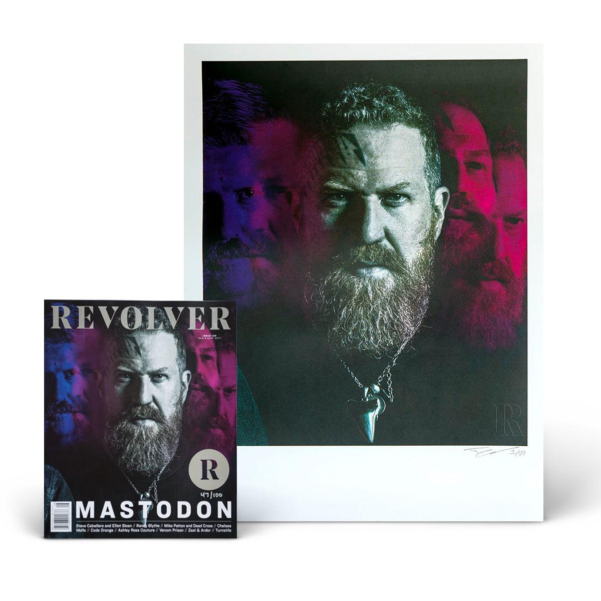 Mastodon Mega Set - SILVER Collector's Edition Four-Pack + Collector's Edition 18 x 24 Mastodon Prints – 4 Print Set