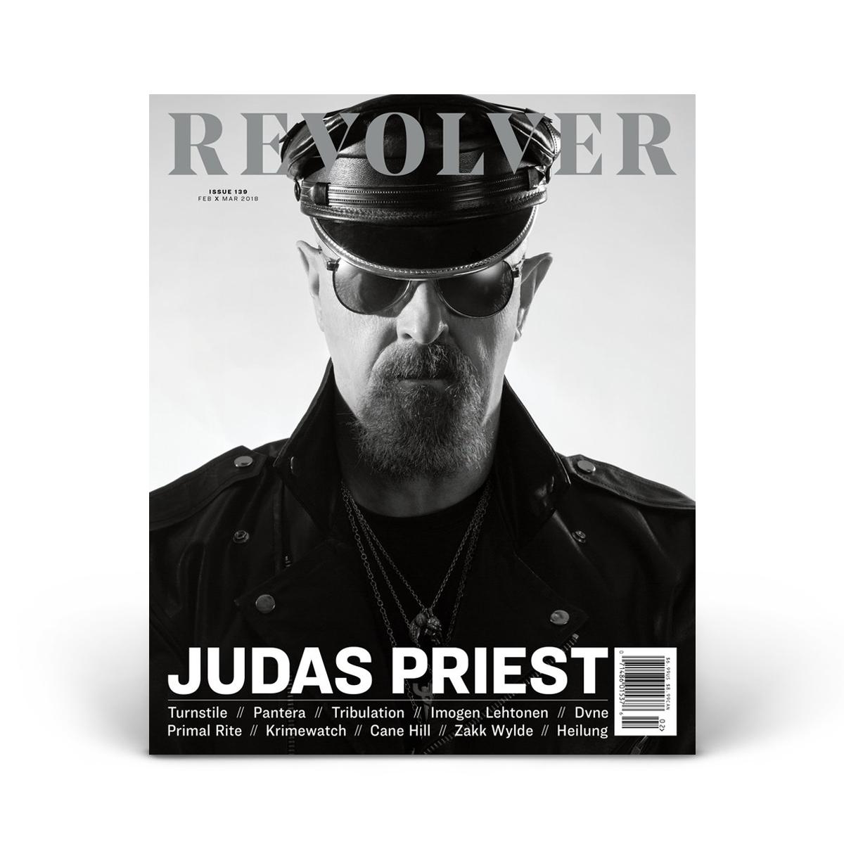 FEB/MAR 2018 Issue featuring Judas Priest