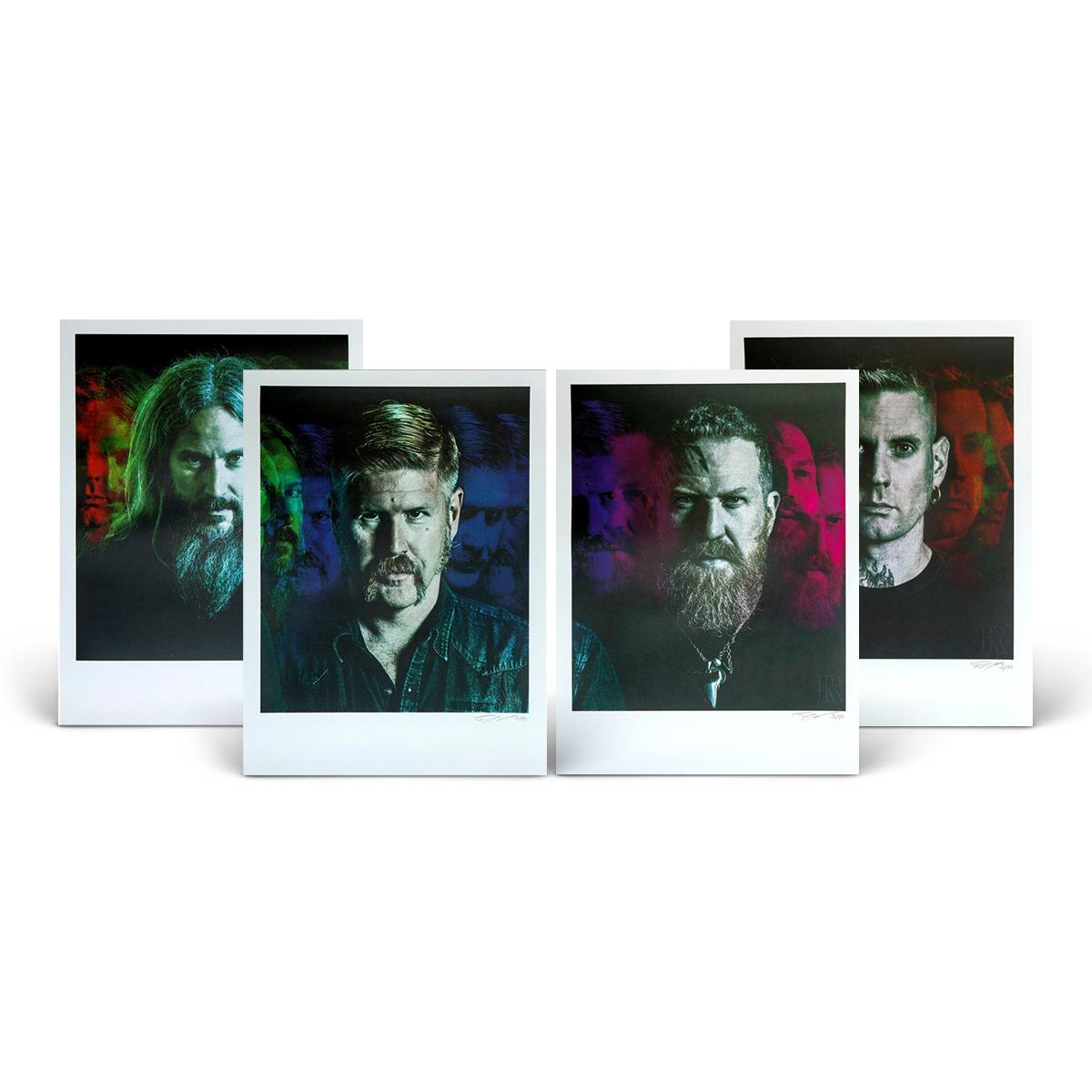 Collector's Edition 18 x 24 Mastodon Prints – 4 Print Set