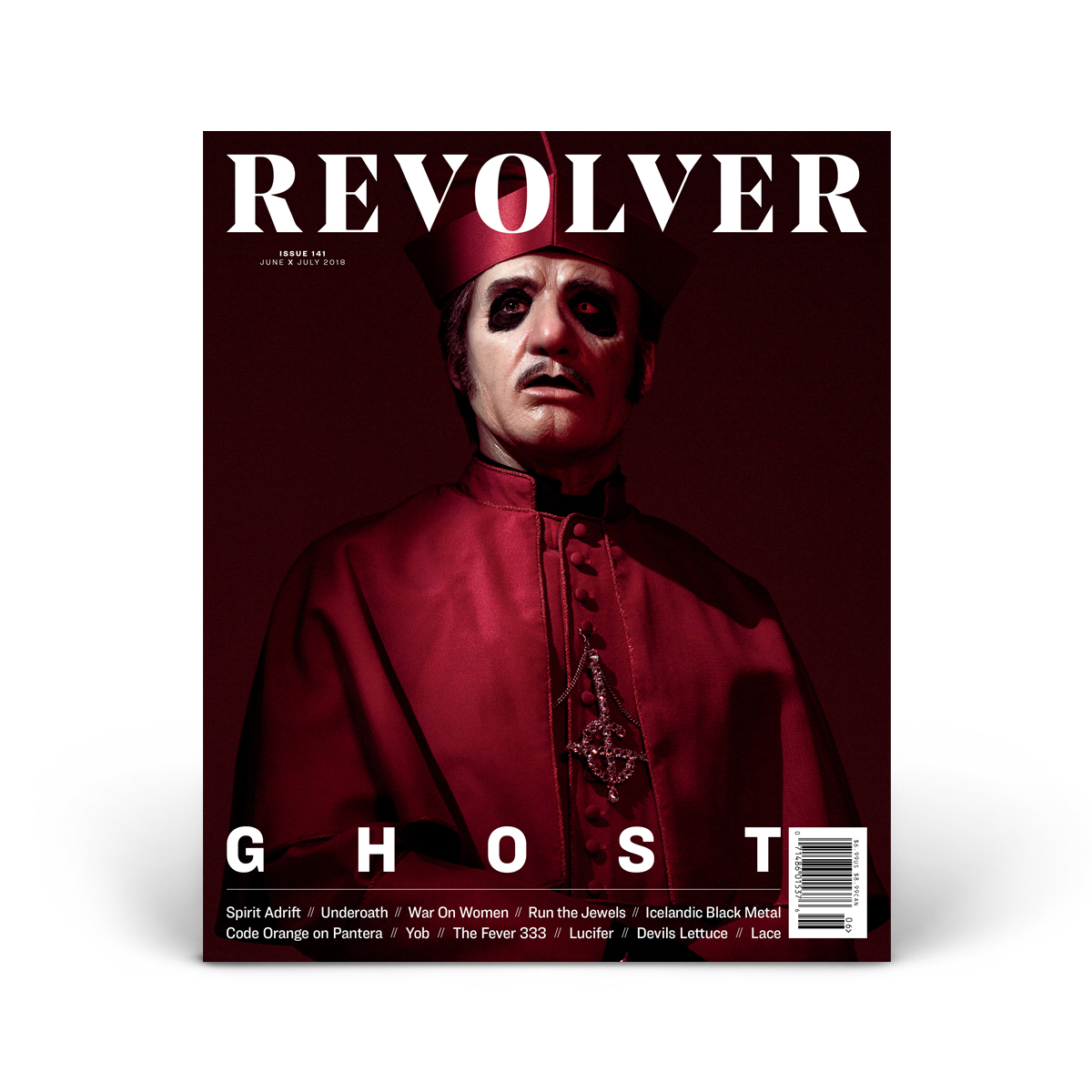 JUNE/JULY 2018 Issue featuring Ghost - Cover 1 of 4