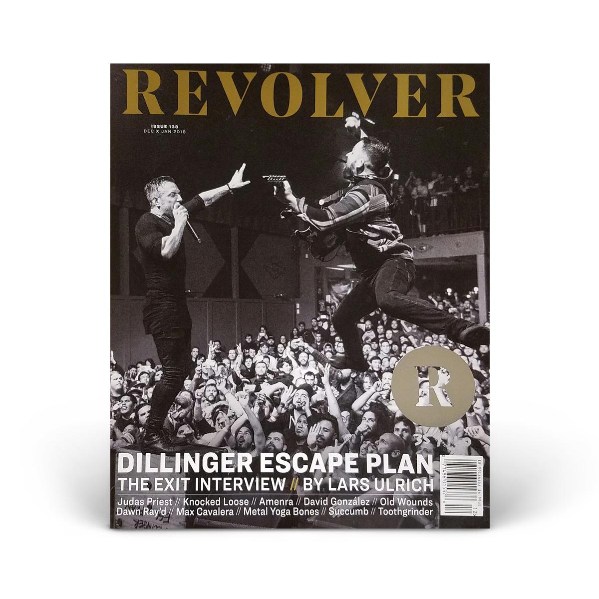 SILVER Collector's Edition Dec/Jan 2018 Issue - Dillinger Escape Plan