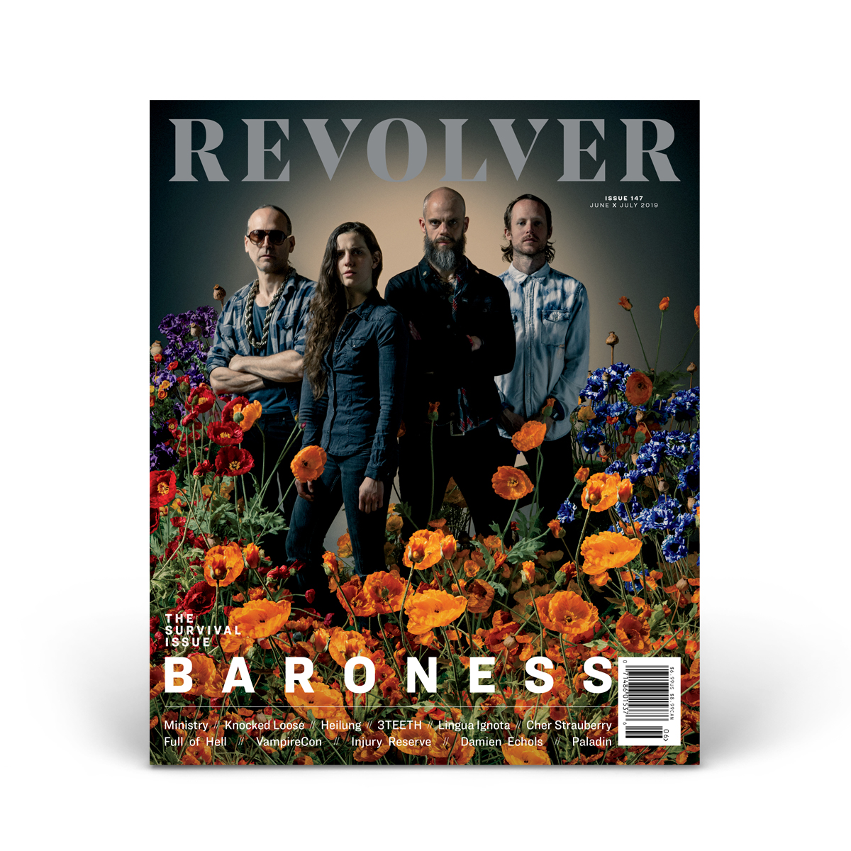 JUNE/JULY 2019 SURVIVAL ISSUE FEATURING BARONESS — COVER 3 OF 5