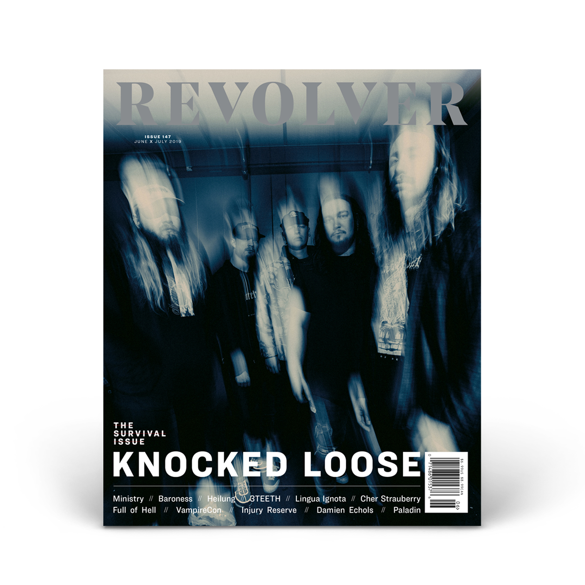 JUNE/JULY 2019 SURVIVAL ISSUE FEATURING KNOCKED LOOSE — COVER 5 OF 5
