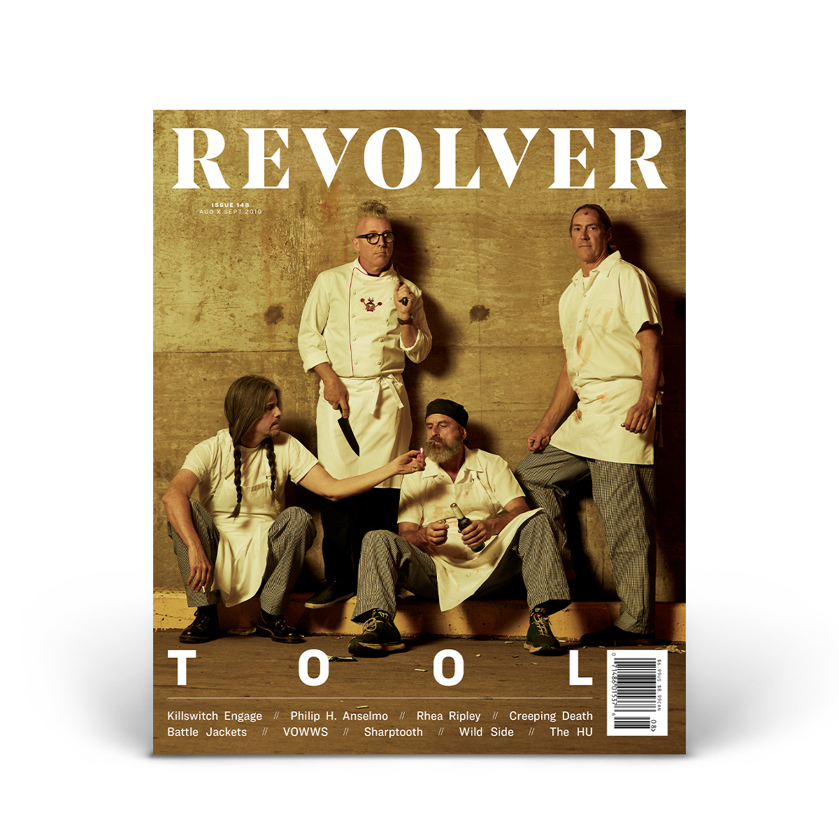 SILVER COLLECTOR'S EDITION AUG/SEPT 2019 ISSUE — TOOL — ONLY 250 MADE