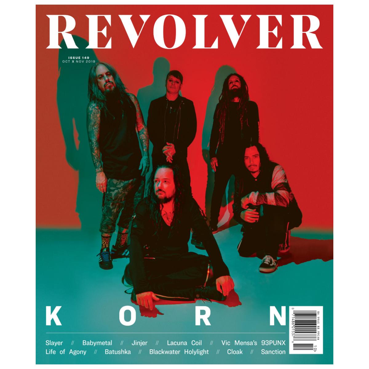OCT/NOV 2019 ISSUE FEATURING KORN