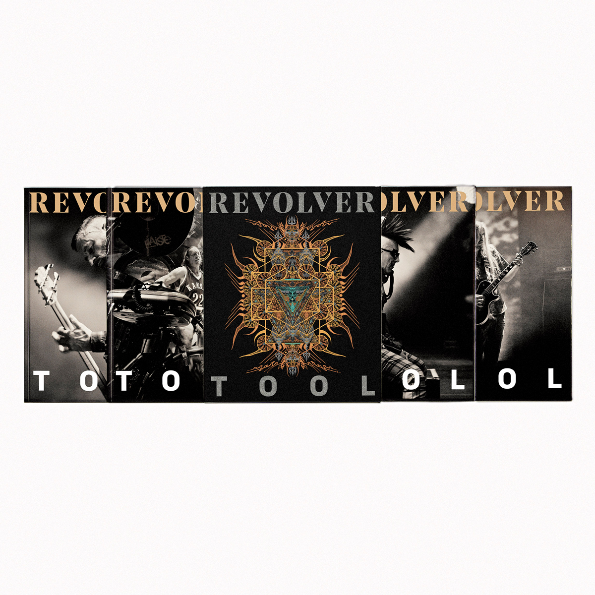 COLLECTOR'S 4-ISSUE SLIPCASE WITH BELLYBAND — TOOL — ONLY 75 MADE