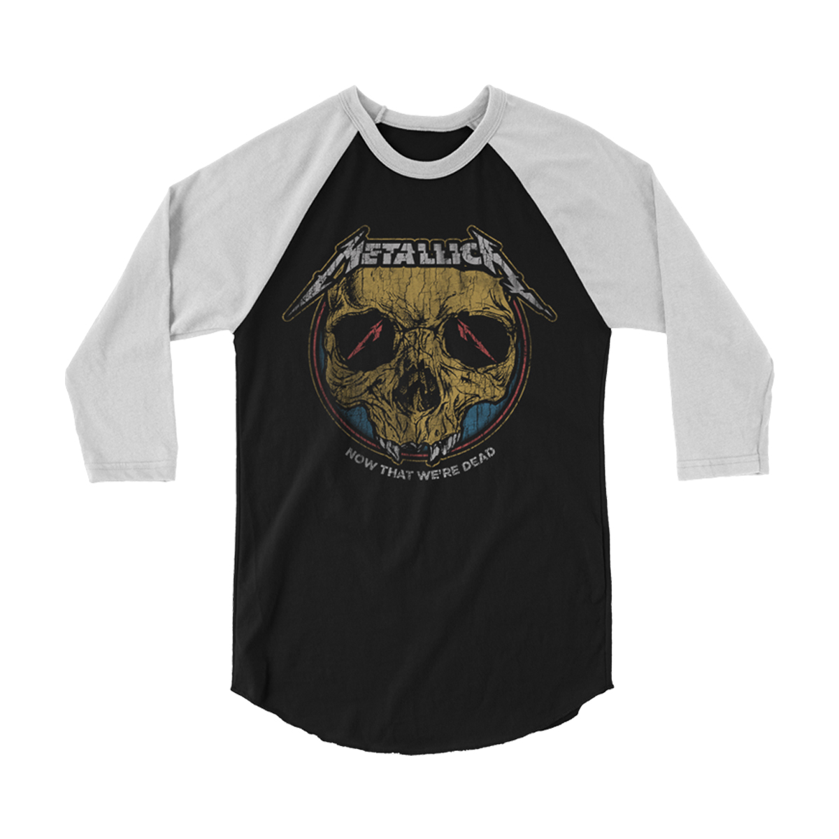 Now That We're Dead Raglan T-Shirt
