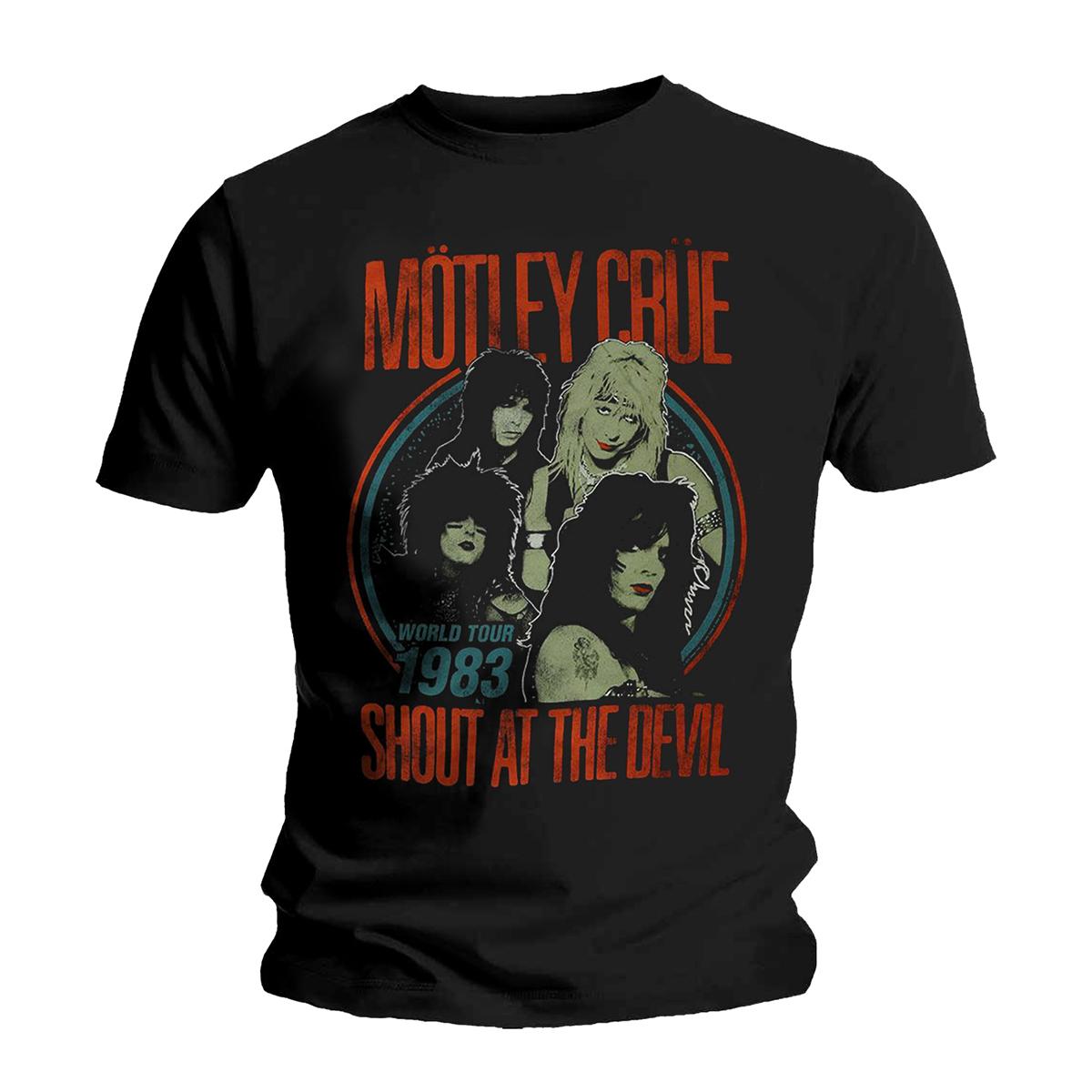 Mötley Crüe VINTAGE '83 SHOUT AT THE DEVIL T-SHIRT