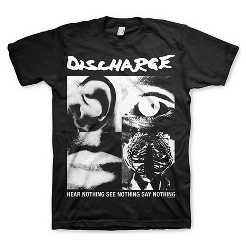 Discharge Hear Nothing T-Shirt