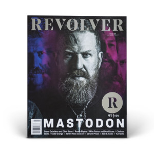 SILVER Collector's Edition Relaunch Issue - Brent Hinds Cover