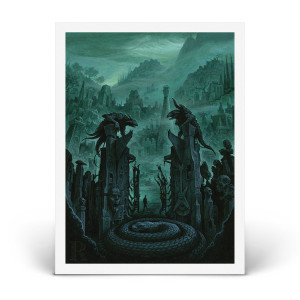 "Pantera ""Cementary Gates"" Print - Only 250 Available!"