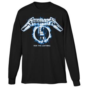 Ride The Lightning Long Sleeve T-Shirt