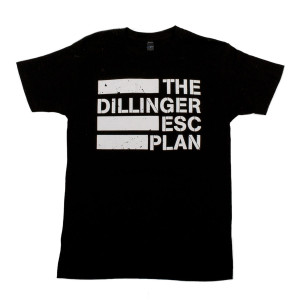 Dillinger Escape Plan Flag Logo T-Shirt