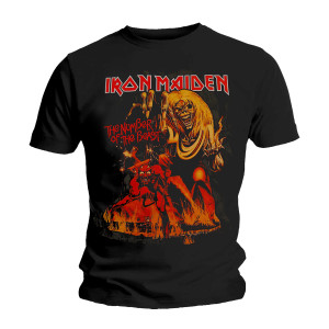 IRON MAIDEN NUMBER OF THE BEAST GRAPHIC T-SHIRT