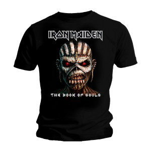 IRON MAIDEN THE BOOK OF SOULS T-SHIRT