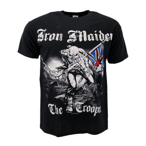 IRON MAIDEN SKETCHED TROOPER T-SHIRT