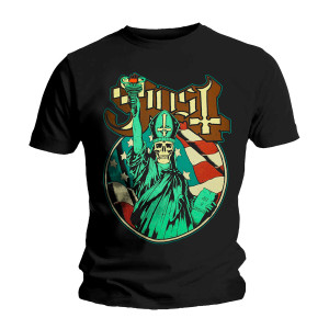GHOST STATUE OF LIBERTY T-SHIRT