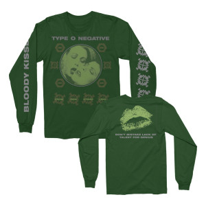 Type O Negative - Crude Gears Long Sleeve Green