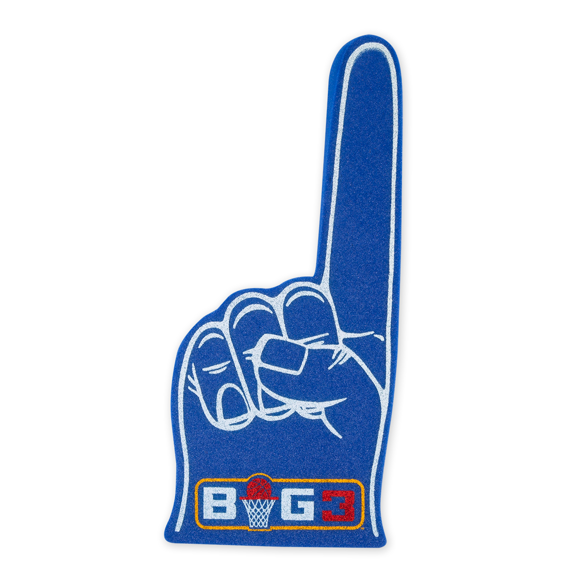 Big3 Blue Foam Finger