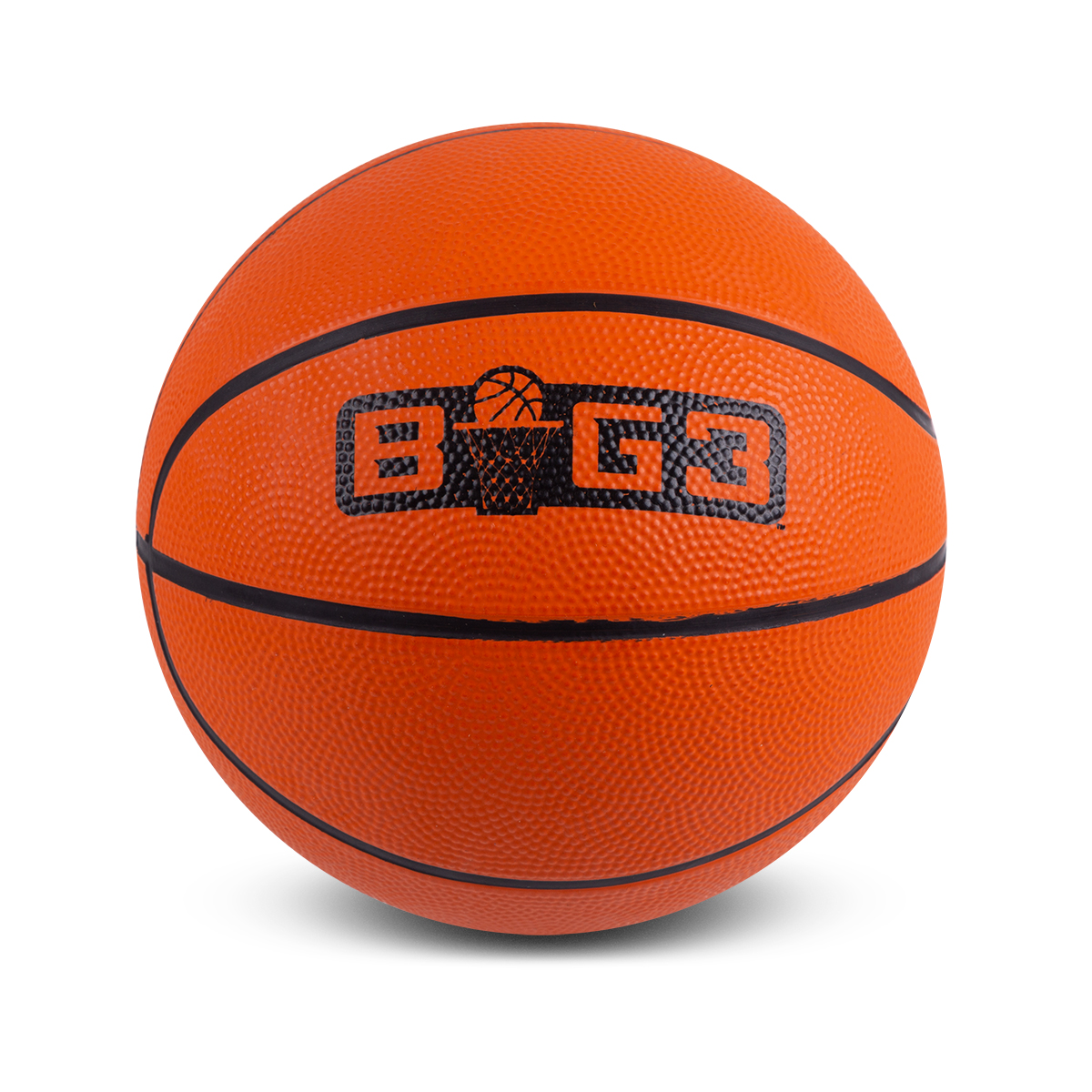 Orange Logo Mini Basketball