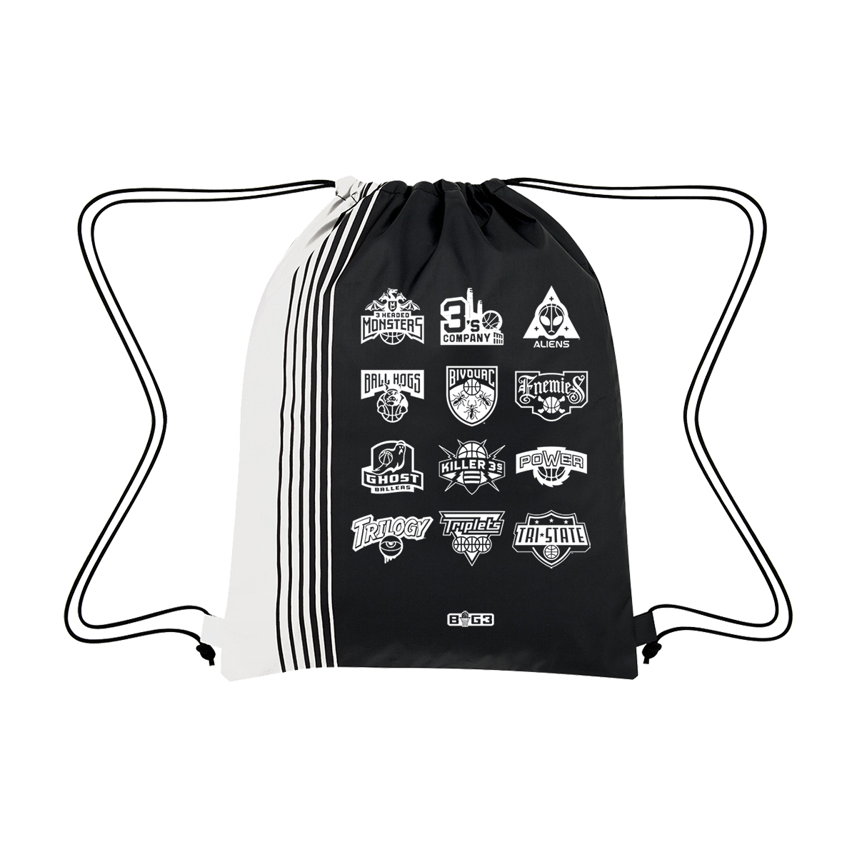 Team Logo Drawstring Bag