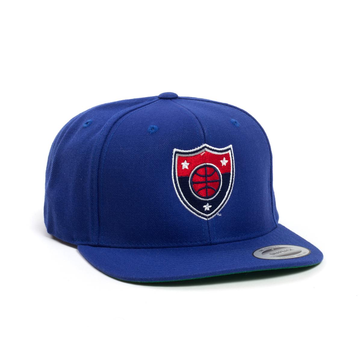 Tri-State Logo Blue Flatbrim Hat