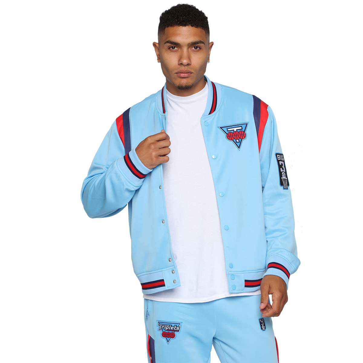 Team Triplets Jacket - Blue/Combo