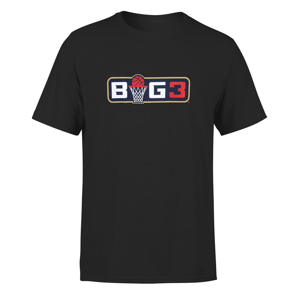 Big3 Black Logo T-shirt